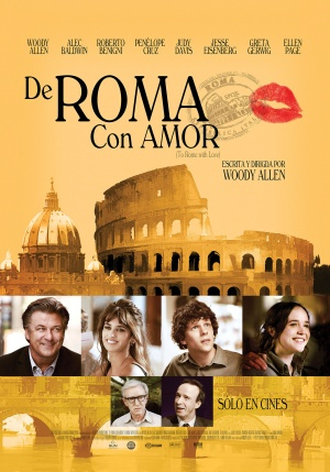 To Rome with Love 2310x3307
