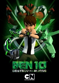 Ben 10: Destroy All Aliens poster
