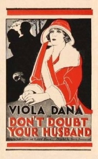 Don't Doubt Your Husband poster