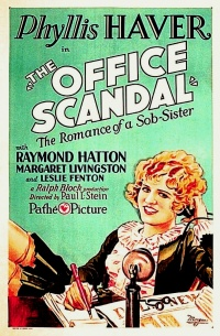 The Office Scandal poster