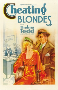 Cheating Blondes poster