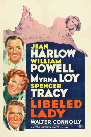 Libeled Lady Poster