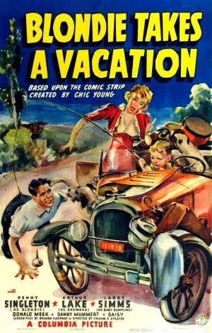 Blondie Takes a Vacation Poster