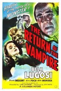 The Return of the Vampire poster