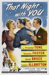 That Night with You poster
