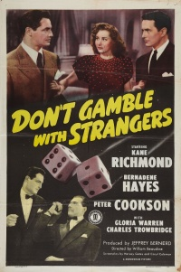 Don't Gamble with Strangers poster