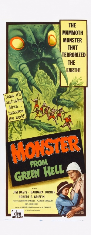 Monster from Green Hell Theatrical poster