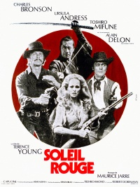 Soleil rouge poster