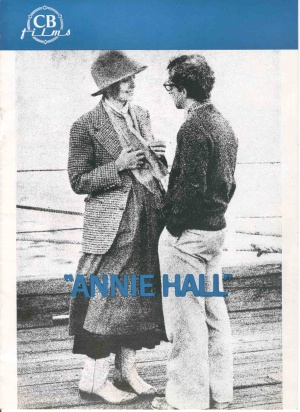 Annie Hall Dvd cover