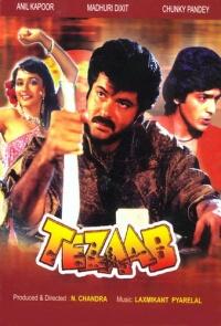 Tezaab poster