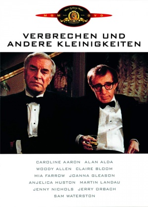 Crimes and Misdemeanors Dvd cover