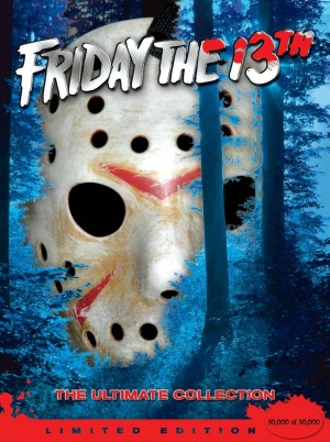Jason Goes to Hell: The Final Friday Dvd cover