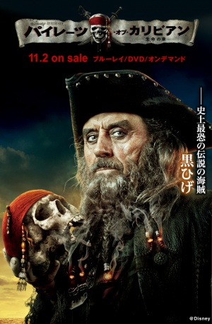 Pirates of the Caribbean: On Stranger Tides 640x980