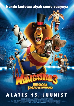 Madagascar 3: Europe's Most Wanted 1738x2500