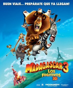 Madagascar 3: Europe's Most Wanted 1229x1465