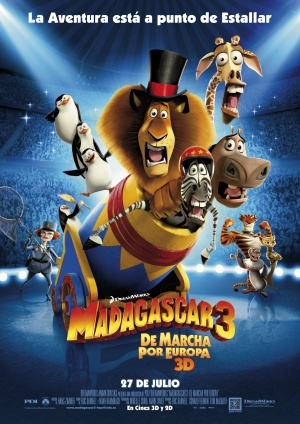 Madagascar 3: Europe's Most Wanted 2480x3507