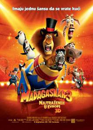 Madagascar 3: Europe's Most Wanted 300x421