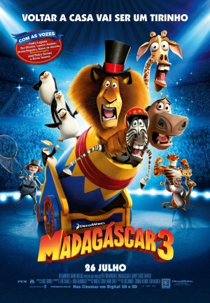 Madagascar 3: Europe's Most Wanted 1311x1890