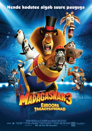 Madagascar 3: Europe's Most Wanted 1750x2500
