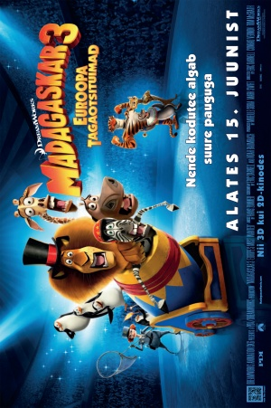 Madagascar 3: Europe's Most Wanted 1664x2500