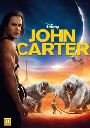 John Carter Dvd cover