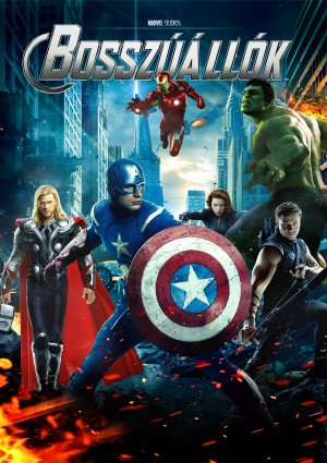 The Avengers Dvd cover