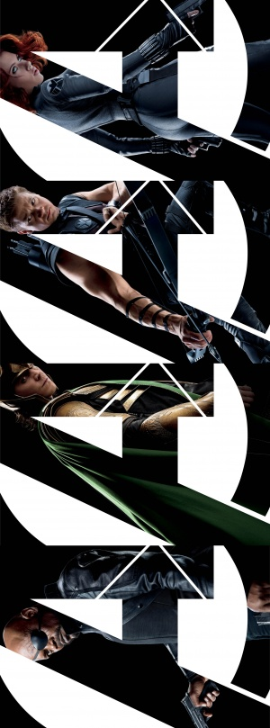 The Avengers 1855x5000