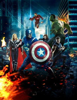 The Avengers 2012x2588