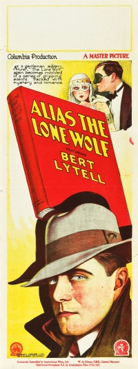 Alias the Lone Wolf poster