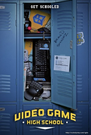 Video Game High School 640x948