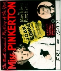 Miss Pinkerton poster