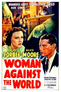 Woman Against the World poster
