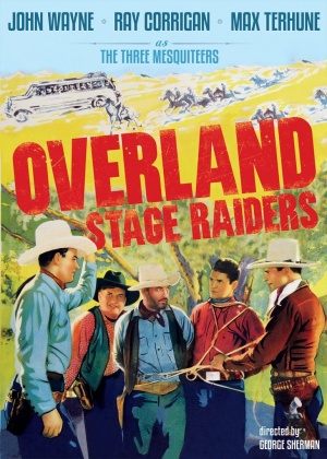 Overland Stage Raiders Dvd cover