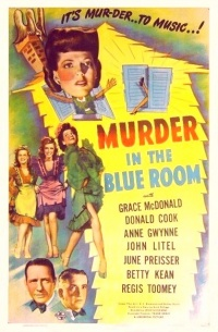 Murder in the Blue Room poster