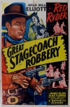 Great Stagecoach Robbery Poster