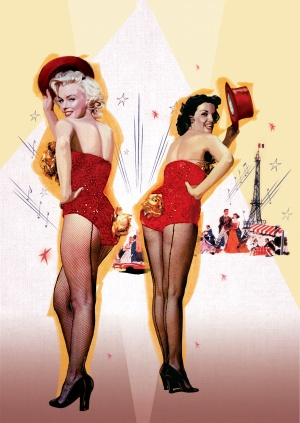 Gentlemen Prefer Blondes 1683x2371