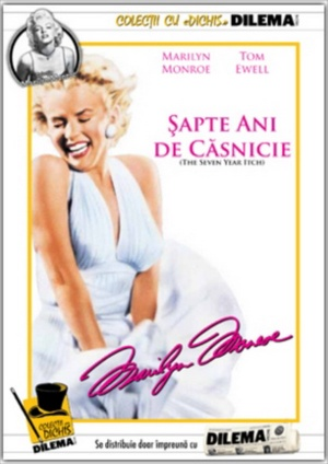 The Seven Year Itch Dvd cover