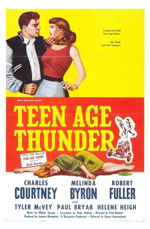 Teenage Thunder Poster
