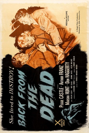 Back from the Dead Poster