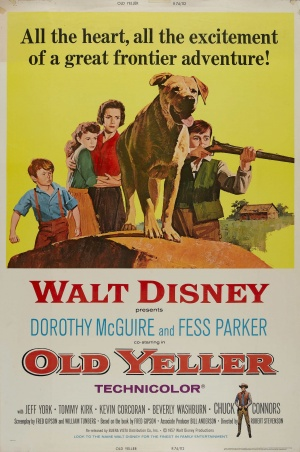 Old Yeller Re-release poster