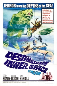 Destination Inner Space poster