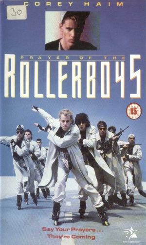Prayer of the Rollerboys Vhs cover