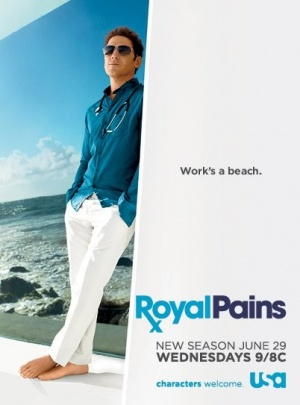 Royal Pains 402x543