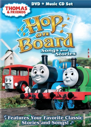 Thomas and Friends: Hop on Board Cover