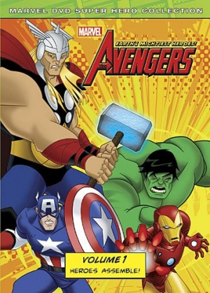 The Avengers: Earth's Mightiest Heroes 358x500