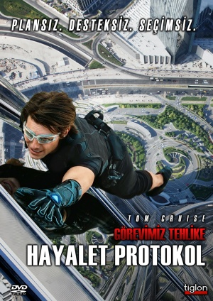 Mission: Impossible - Ghost Protocol Dvd cover
