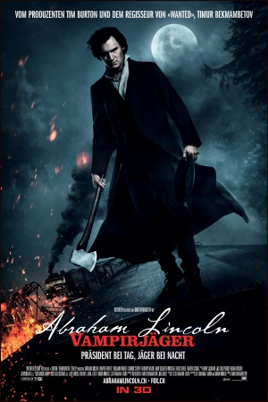 Abraham Lincoln: Vampire Hunter Poster