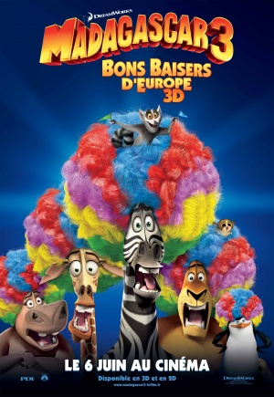 Madagascar 3: Europe's Most Wanted 2483x3600