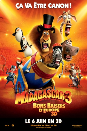 Madagascar 3: Europe's Most Wanted 2400x3600