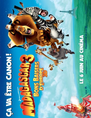 Madagascar 3: Europe's Most Wanted 2769x3600
